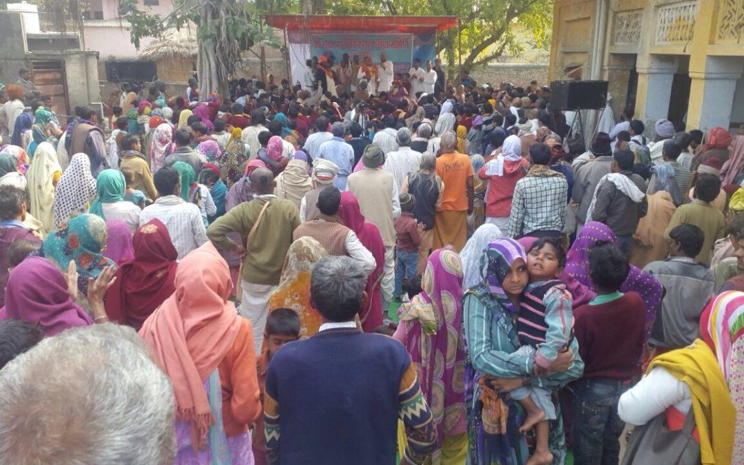 Yamuna Muktikaran Gets Support From Vikalang Seva Simiti (Association of Physically Challenged)